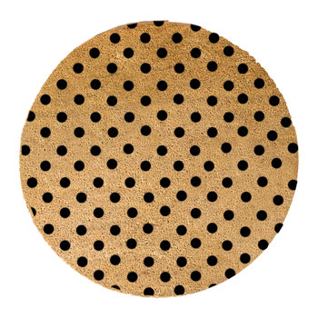 Dots Door Mat - Round