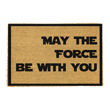May The Force Be With You Door Mat