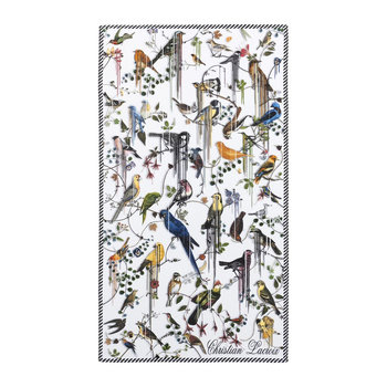 Birds Sinfonia Perce-Neige Beach Towel