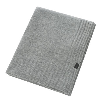 Hot Cashmere Throw - 110x150cm - Medium Grey