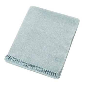 Must Relax Virgin Wool Blanket - 130x190cm - Powder Blue