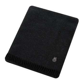 Must Relax Virgin Wool Blanket - 130x190cm - Slate