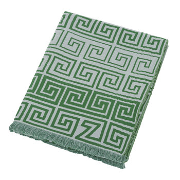 Leg Cotton Throw - 145x190cm - Jade