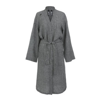 Stay Forever Bathrobe - Black