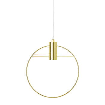 Gold Art Deco Ceiling Pendant Light