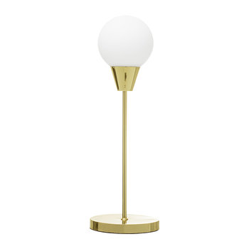 Gold Art Deco Table Lamp