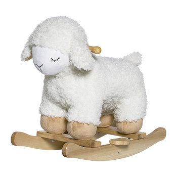 White Rocking Sheep