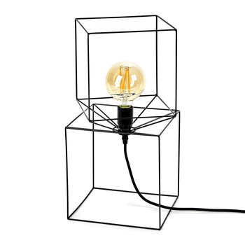 Trompe L'Oeil Lamp - Black