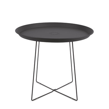 Plat-O Side Table with Removable Tray - Anthracite