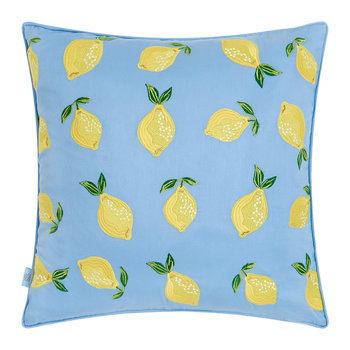 Lemon Cushion - 45x45cm - Chambray