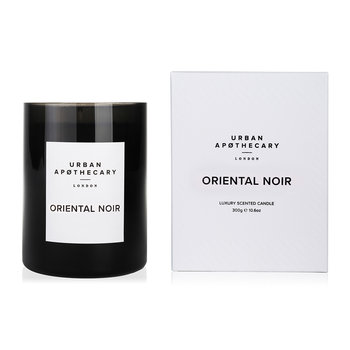 Luxury Scented Candle - Black Glass - Oriental Noir