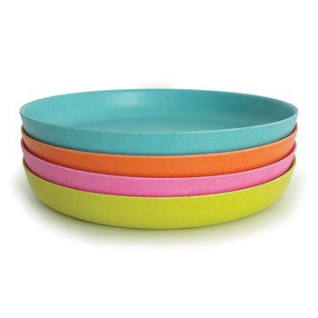 Bambino Plates - Set of 4 - Rose/Lime