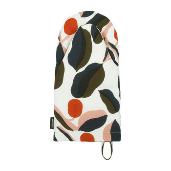 Jaspi Oven Mitt - White/Red/Yellow/Blue