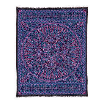 Aurora Throw - 140x180cm - Black/Blue