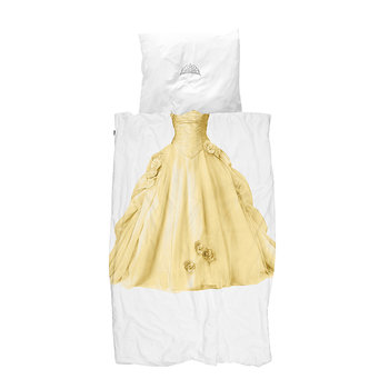Princess Duvet Set - Yellow