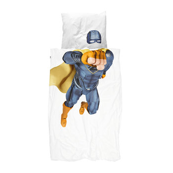 Superhero Duvet Set - Blue
