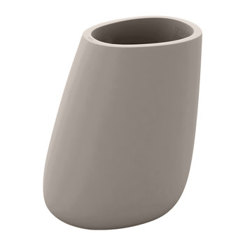 Stone Planter - Taupe - Tall