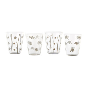 Lemonade Tumblers - Stripes & Stars - Set of 4