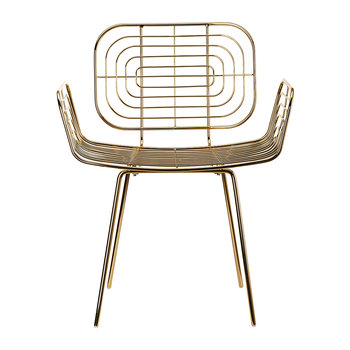 Boston Chair - Gold
