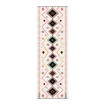 Kathmandu Abstract Vinyl Floor Mat - Multi