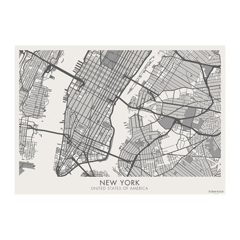 Week-end Vinyl Placemat - New York