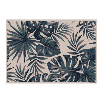 Summer Bounty Jungle Placemat - Brown/Green