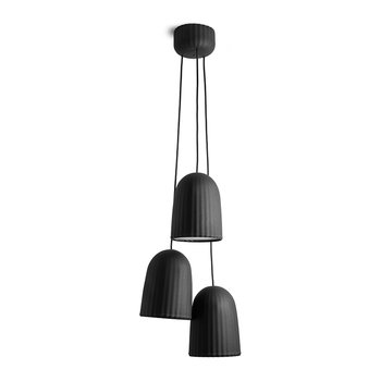 Chains Pendant Ceiling Light - Black - Triple