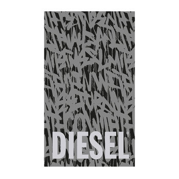 Suburban Graffiti Beach Towel - Grey