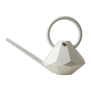 Diamond Indoor Watering Can - Pearl
