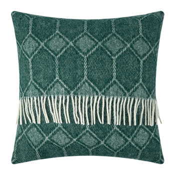 Churchpane Wool Pillow - 60x60cm - Emerald