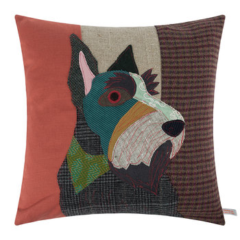 Coussin Hamish le Scottish-Terrier - 50x50cm
