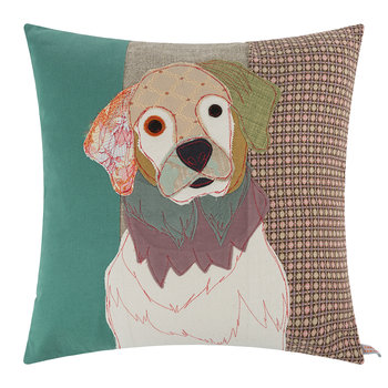 Coussin George le Golden Retriever - 50x50cm