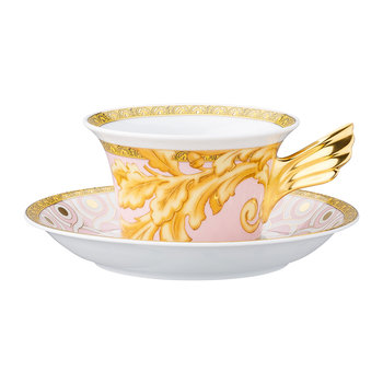 25th Anniversary Les Reves Byzantins Teacup & Saucer - Limited Edition