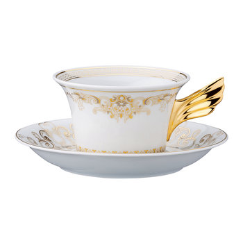 25th Anniversary Medusa Gala Teacup & Saucer - Limited Edition
