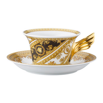 25th Anniversary I Love Baroque Teacup & Saucer - Limited Edition