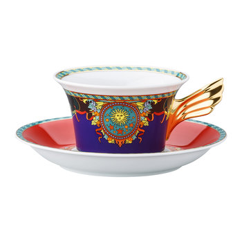25th Anniversary Le Roi Soleil Teacup & Saucer - Limited Edition
