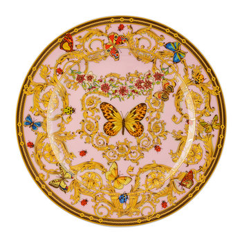 25th Anniversary Le Jardin De Versace Plate - Limited Edition