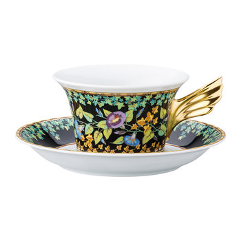 25th Anniversary Gold Ivy Teacup & Saucer - Limited Edition