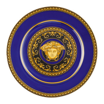 25th Anniversary Medusa Blue Plate - Limited Edition