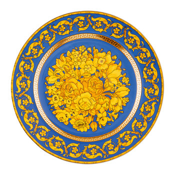 25th Anniversary Floralia Blue Plate - Limited Edition