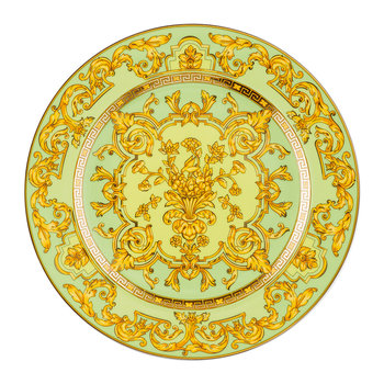 25th Anniversary Floralia Green Plate - Limited Edition