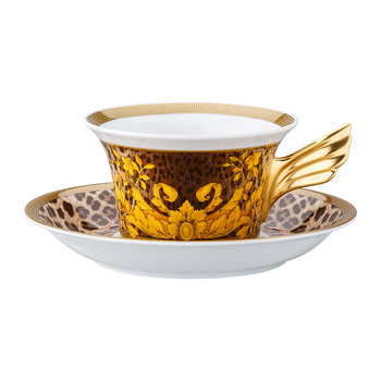 25th Anniversary Wild Floralia Teacup & Saucer - Limited Edition