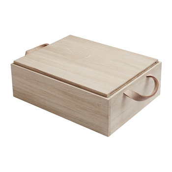Norr Bread Box - Oak
