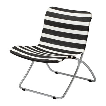 Lise Garden Chair - Black Stripes