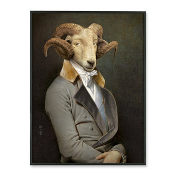 Framed Aluminum Print - Bel Ami - Limited Edition