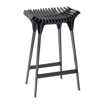 Grafite Stool - Black - 65cm