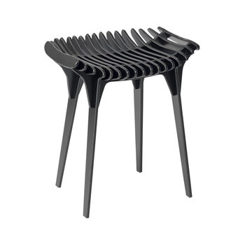 Grafite Stool - Black - 45cm