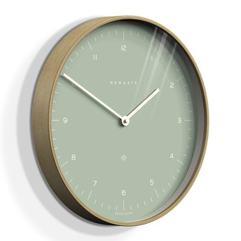 Mr Clarke Wall Clock - 40cm - Bubble Green Dial