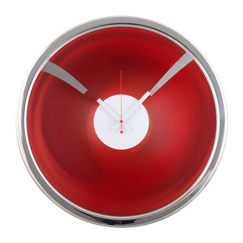 Miraggio Wall Clock - Red