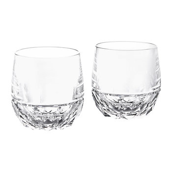 Monroe Crystal DOF Glasses - Set of 2